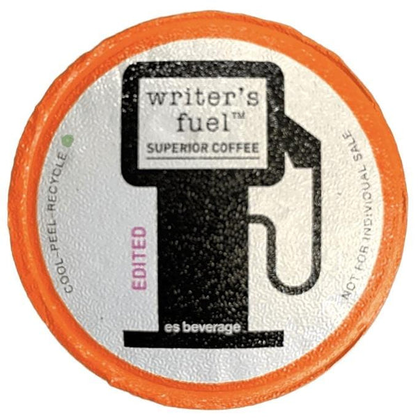 WRiTER'S FUEL - 12 Pack Single Serve Coffee Capsules - EDiTED