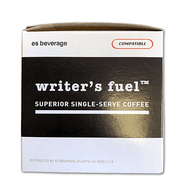 WRiTER'S FUEL - 12 Pack Single Serve Coffee Capsules - ROUGH DRAFT