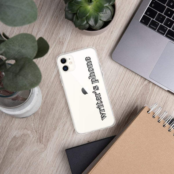 WRITER'S PHONE - iPhone Case