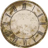 American Dakota Novelty New York Clock - Distressed