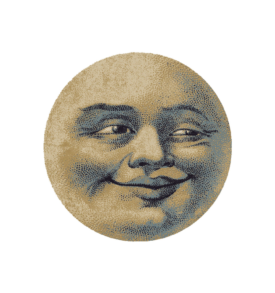 American Dakota Novelty Moon Face - Light