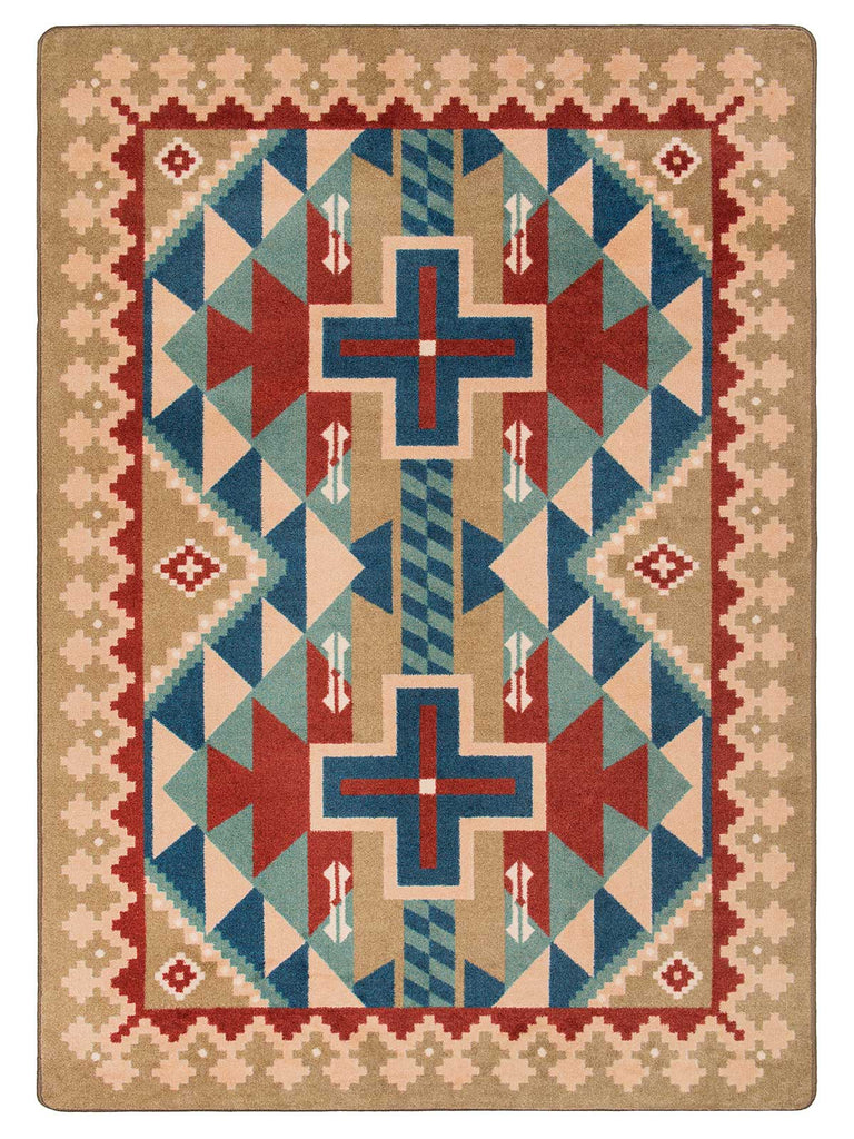 American Dakota Voices Tribesman - Kilim