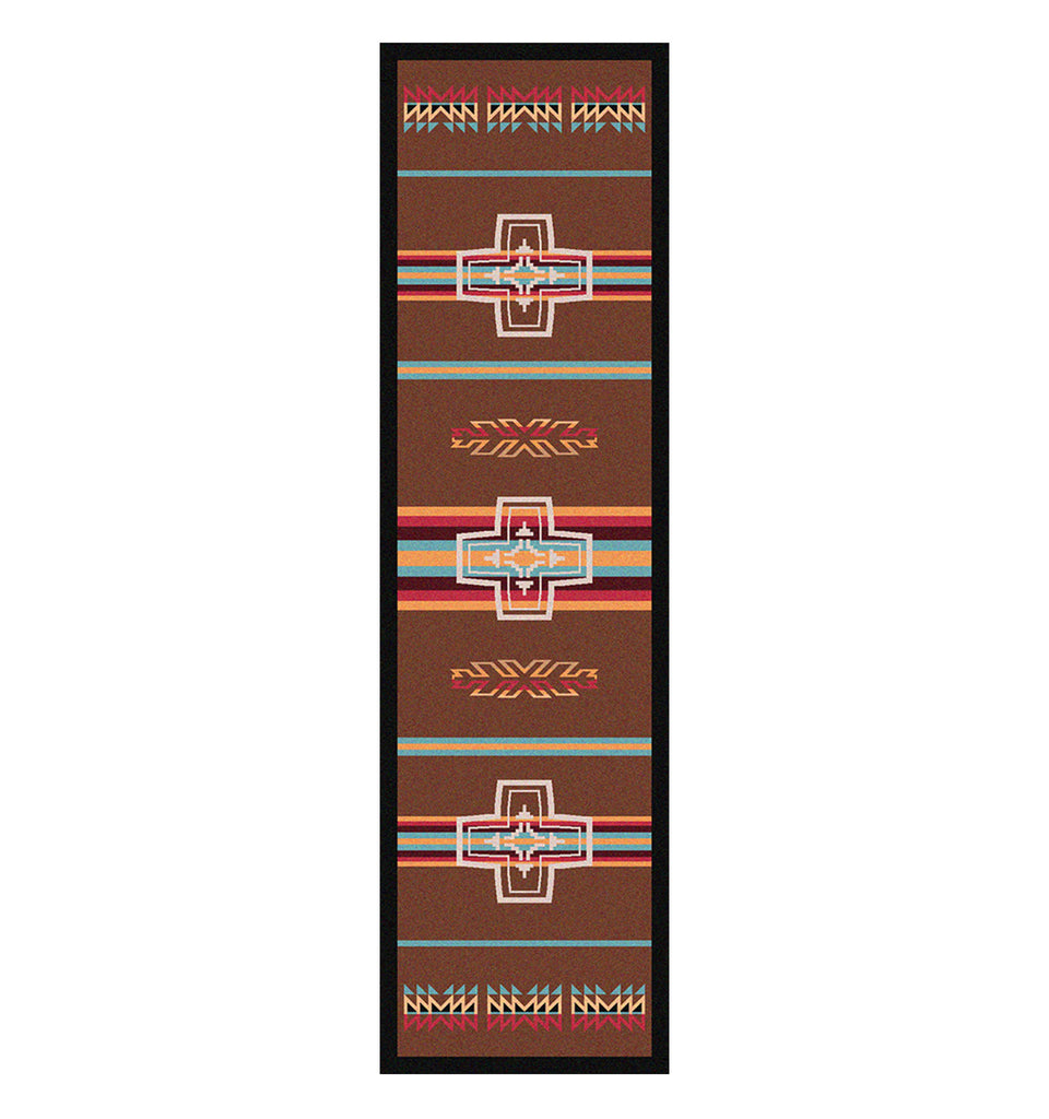 American Dakota Trader Rugs Canyon Cross - Sunset