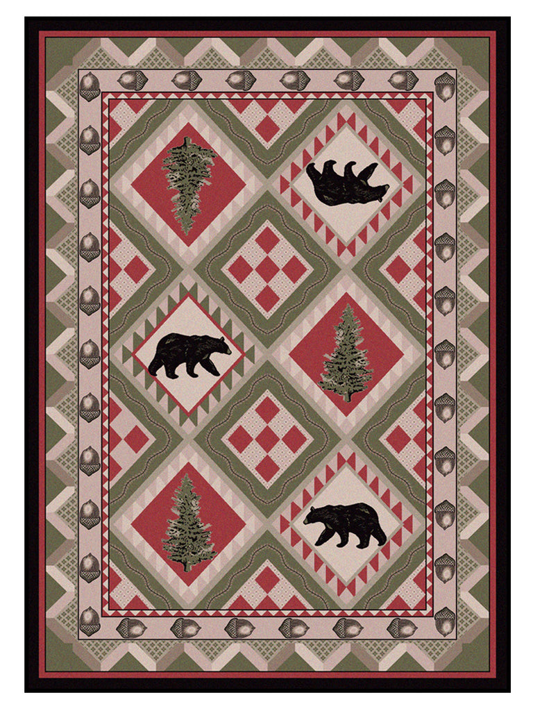 American Dakota National Park Quilted Forest - Pine