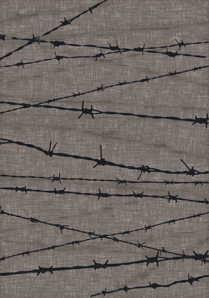 American Dakota Great State Of Mind Barbed Wire - Natural