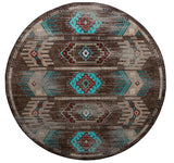 American Dakota Voices Carlsbad Distressed  - Turquoise