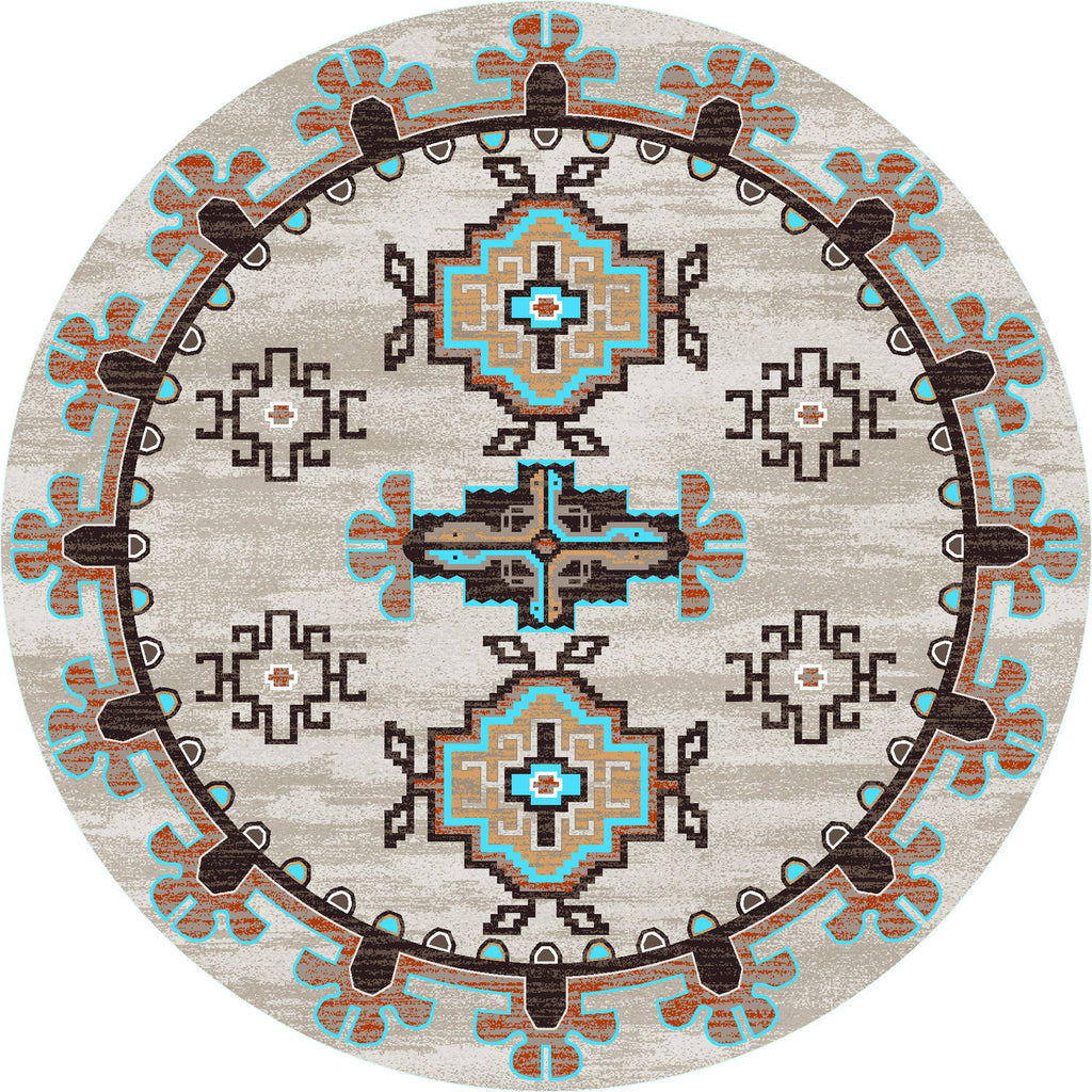 American Dakota Trader Rugs Bad Lands - Sierra