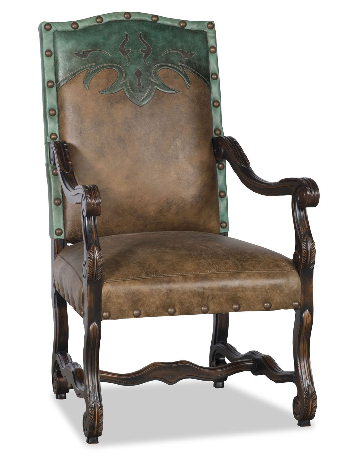 Autry End Chair - Jade