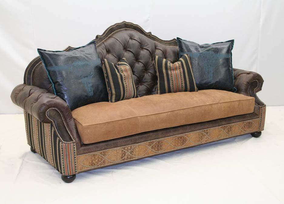 Boundary Trail Sofa - Old Hickory Tannery
