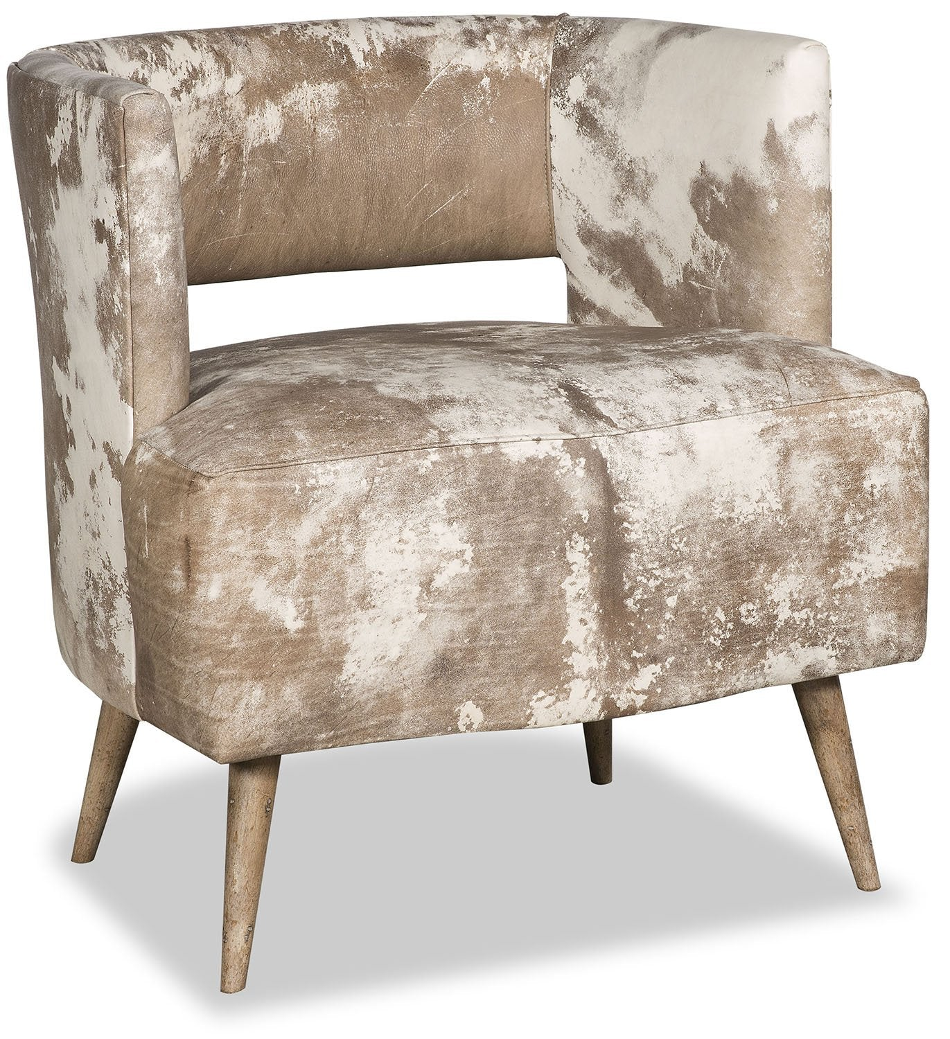 Nida Cowhide Chair - Organic