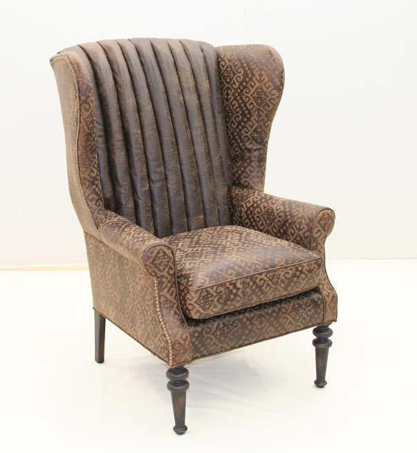 Sundance Western Wing Chair - Old Hickory Tannery