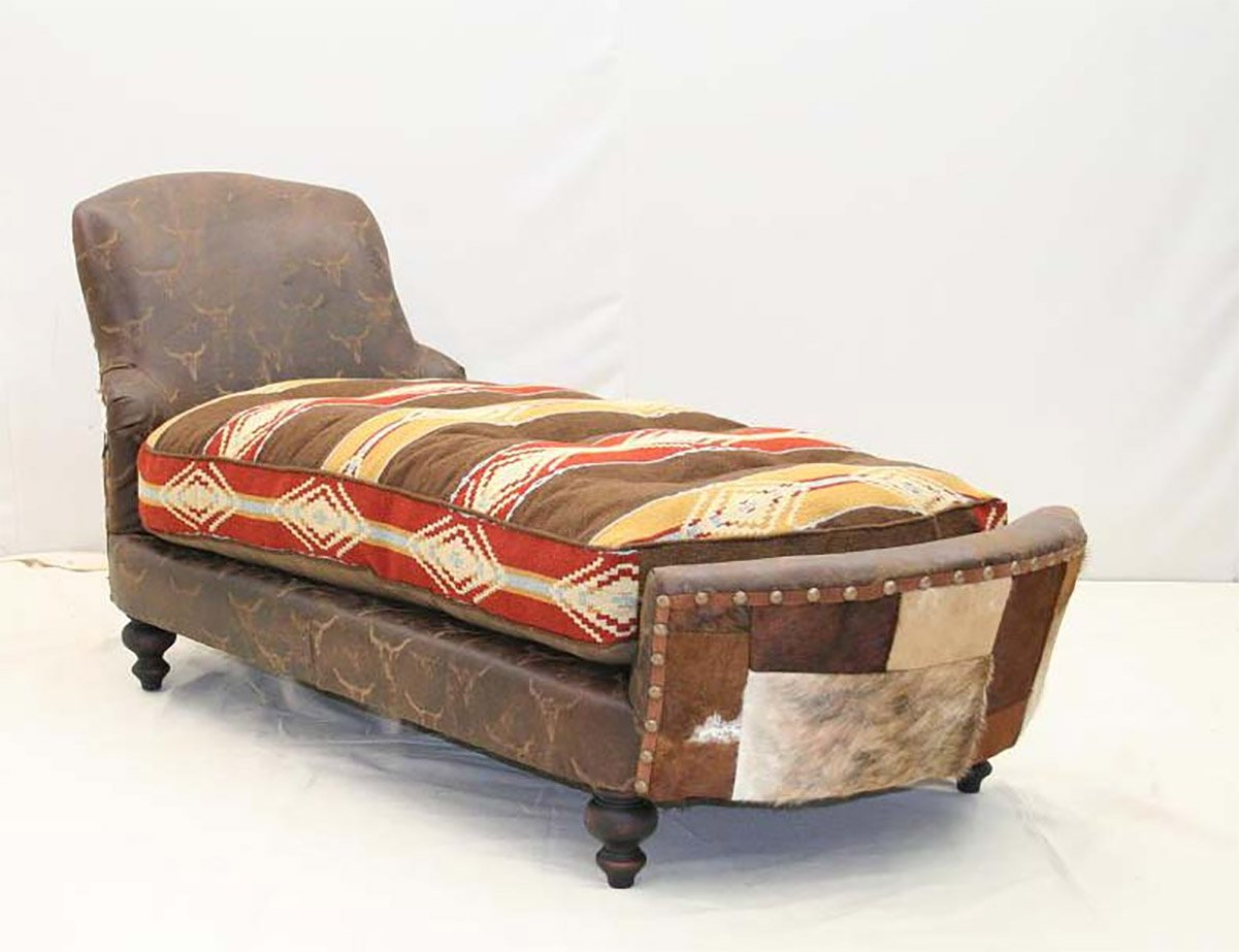 Ghost Rider Chaise Lounge - Old Hickory Tannery