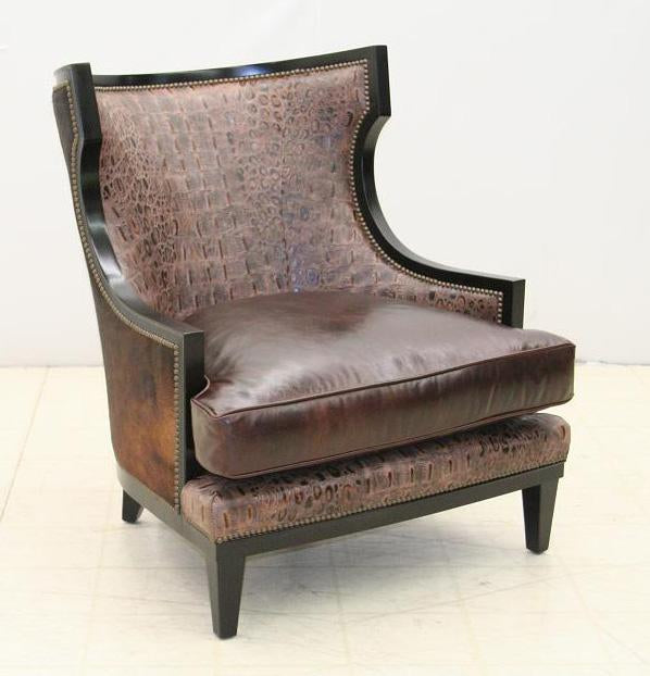 Rustic Meets Modern Chair - Old Hickory Tannery