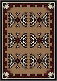 American Dakota Camp Cami Blanket - Brown