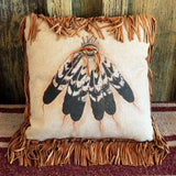 Many Feathers Pillow