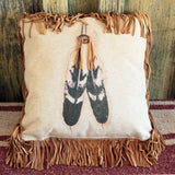 Two Feathers Pillow