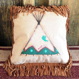 Teepee Accent Pillow