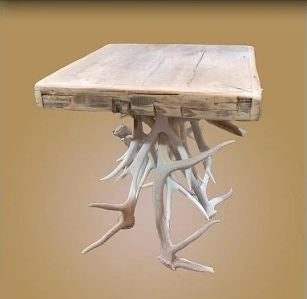 Bleach Antler End Table (ET-11SB)