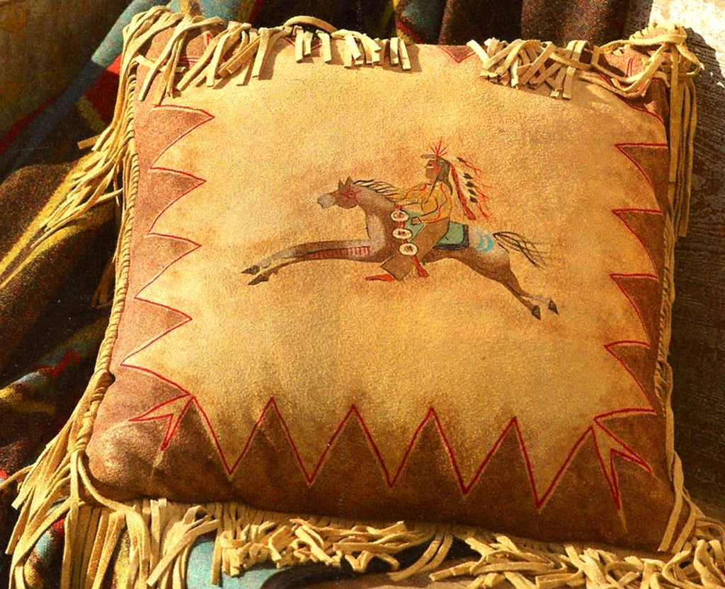 Cayuse Fringed Pillow