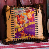 Gene Autry Poster Pillow