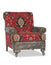 Albert Southwestern Chair - Red