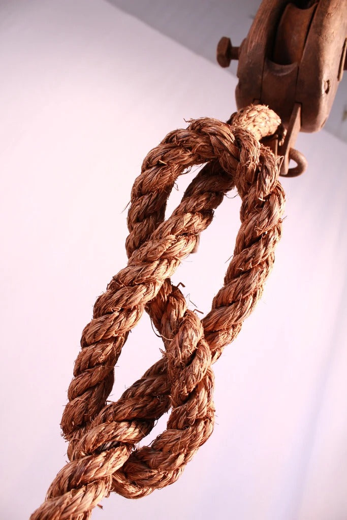 Single Rope Pulley Pendant