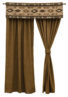 "Mountain Storm - Drape Set 108""x84"""