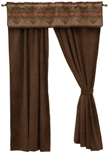 "Bison Ridge II - Drape Set 108""x84"""