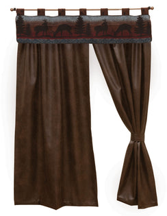 "Deer Meadow II - Drape Set 104""x84"""
