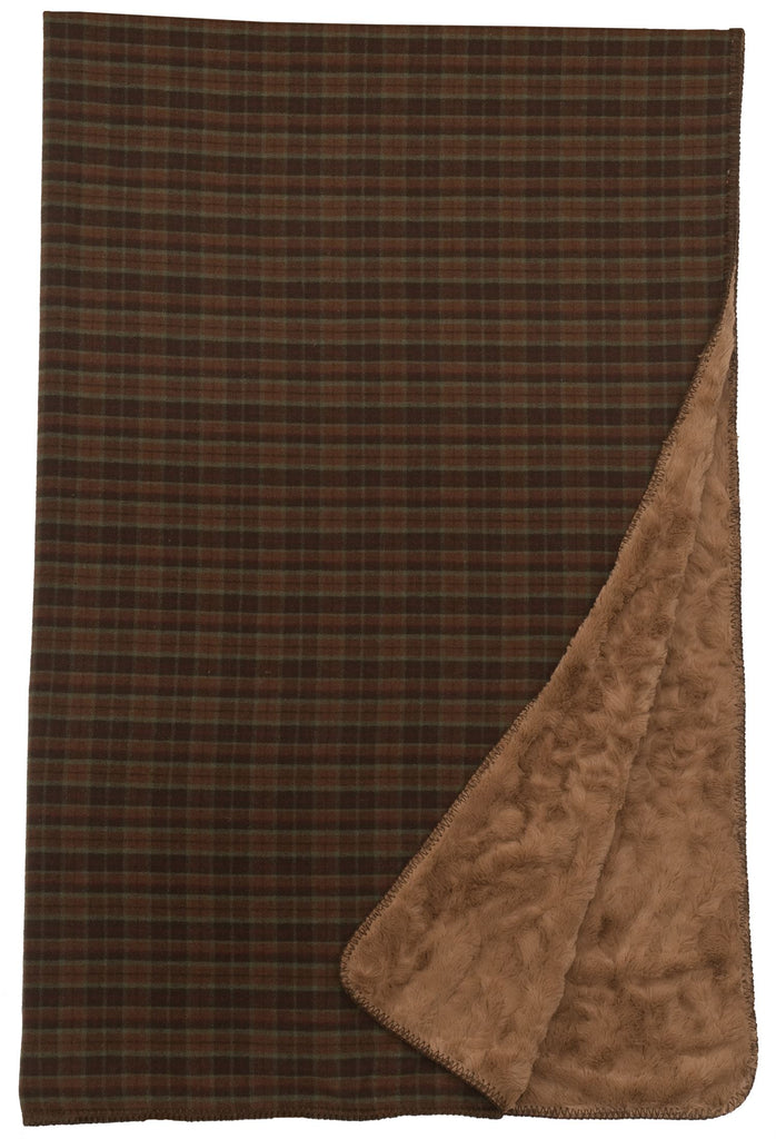 "Premier WR Plaid 6 - Throw 60""x72"""