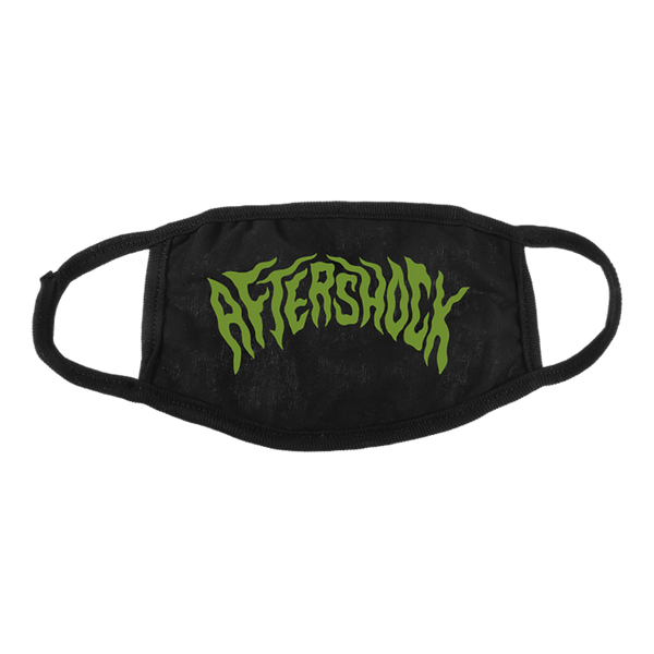 Aftershock Green Logo Mask