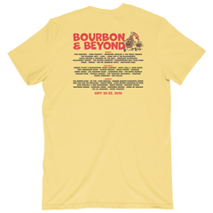 Cartoon Yellow 2019 Lineup Tee