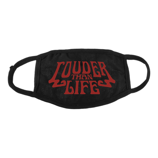 Louder Than Life Logo Mask