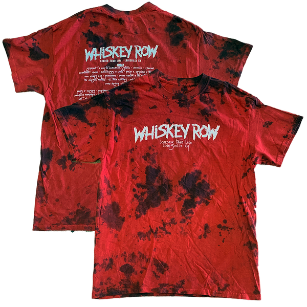Whiskey Row 2019 Red/Black Washed Tee