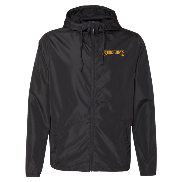 Logo Windbreaker - Black