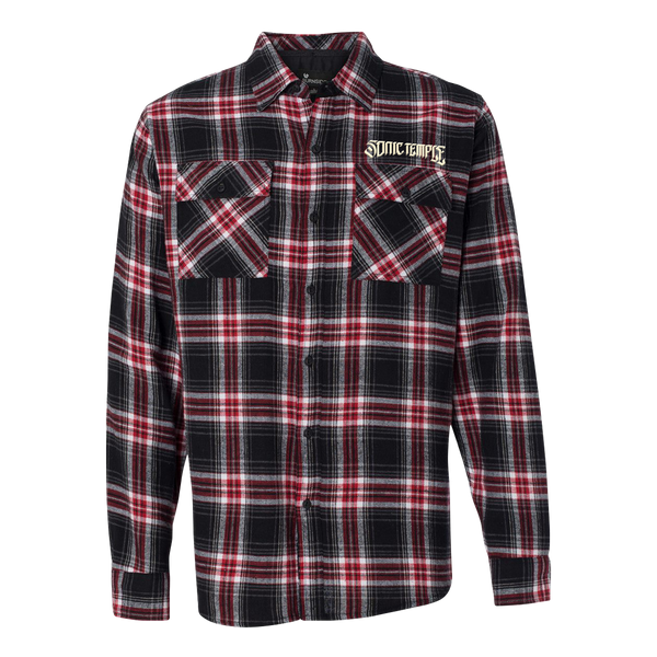 Logo Plaid Flannel