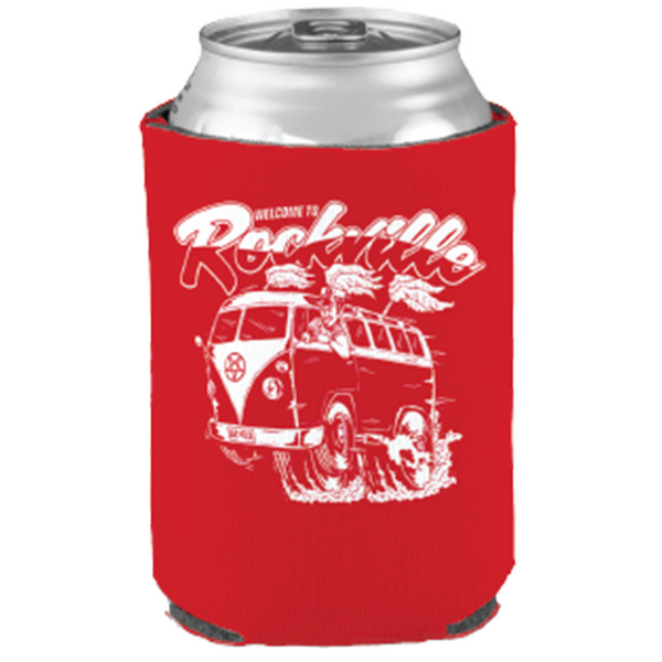Welcome To Rockville Bus Koozie