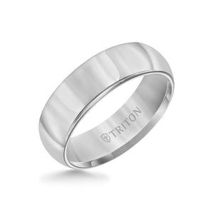 7mm Tungsten bright Finish Domed Band
