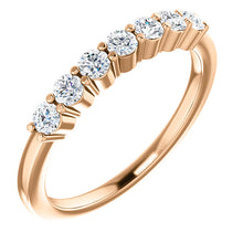 Load image into Gallery viewer, 14K Gold 1/5 CTW Diamond Anniversary Ring