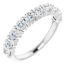 Load image into Gallery viewer, 1 Carat Platinum Diamond Band