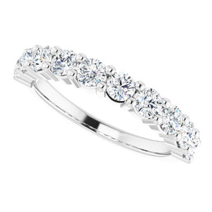 1 Carat Platinum Diamond Band