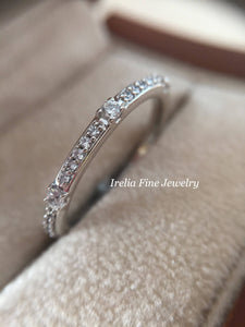 14K Gold 1/4 CTW Diamond Anniversary Band