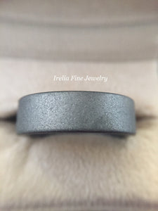 Triton Tungsten 7mm Raw Ring