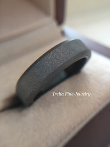 6mm OR 8mm Triton Tungsten Raw Beveled Edge