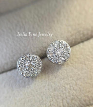 Load image into Gallery viewer, 14K White 1/2 CTW Diamond Earrings