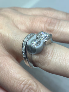 CUSTOM JEWELRY SAMPLE: Diamond Attachments