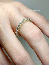 Load image into Gallery viewer, 14K Gold 3 mm Round 1 3/4 carat Diamond Eternity Band