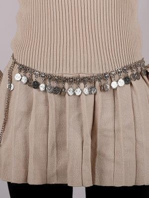 Vintage Coin Tassels Waist Chain Accessories
