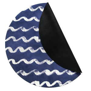 Nautical Navy Mat
