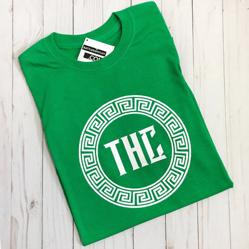 THC Logo T-Shirt - Green and White